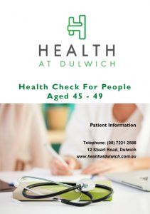 Health Check for 45-49 year olds