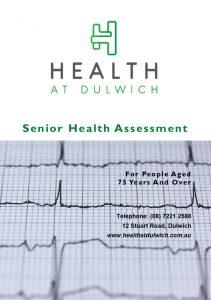 Senior Health Assessment Brochure